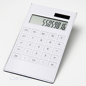 CALCULADORA WHITE - CALC5 - CCL6235