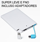 CARREGADOR PORTATIL SLIM