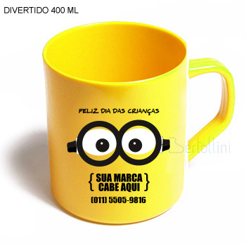 CANECA DIVERTIDA 400 ML - AMCNC001DUV