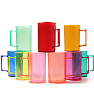 CANECA MINI CHOPP 300 ML COLORIDA